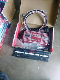 black and red Lincoln Electric welding machine Stockton, 95207