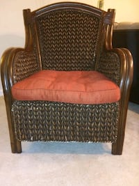 Brown woven chair  York, 17403