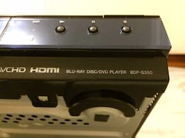Sony BDP S350 Blu Ray Player 1080p.
