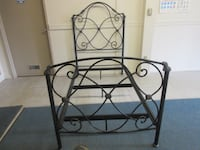 Bombay Co. Wrought Iron Twin Bed Oakville