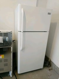 white top-mount refrigerator Vaughan, L0J