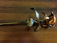 Copper and Bronze Handcrafted Rose Falls Church