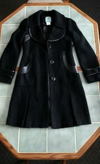 Marciano by Guess: Sm Black Dress Peacoat. Apollo, 15613