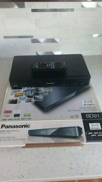 Panasonic smart Blu-Ray player with built-in Wi-Fi