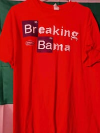 Breaking Bama Clemson Tigers T-SHIRT