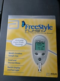 New Freestyle Blood Glucose Monitor Montgomery Village, 20886
