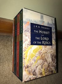The Lord of the Rings by J.R.R. Tolkien book set