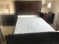 6 Piece Queen Bedroom set w/boxspring only Alexandria, 22302