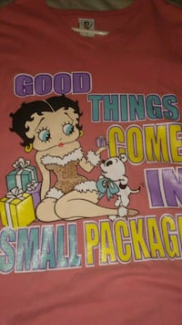 Betty boop extra large shirts