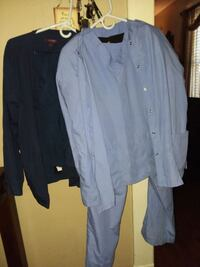 2 healthcare worker uniforms (scrubs) 7 items all  Springfield, 45505