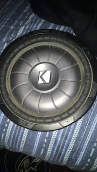 """12"""" Kicker subwoofer (Comp VT)   Only used once  White City, S4L 0E1"""