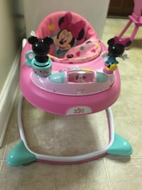 baby's pink and teal Minnie Mouse walker Leesburg, 20176