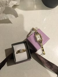 Guess watch and Michael hill ring haven't used