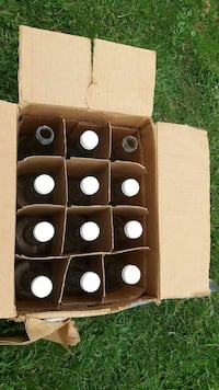 15 empty bottles 750ml or fifth size Clio, 48420