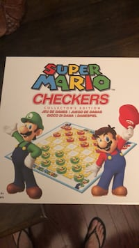 Mario Bros Checkers New Whitby, L1N 6Y8
