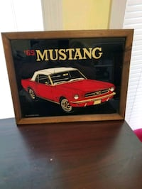 1965 Mustang Framed Picture
