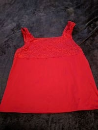 Red Cami (size large) Bristol