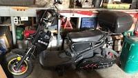 Black and gray touring motorcycle Bradford, L3Z