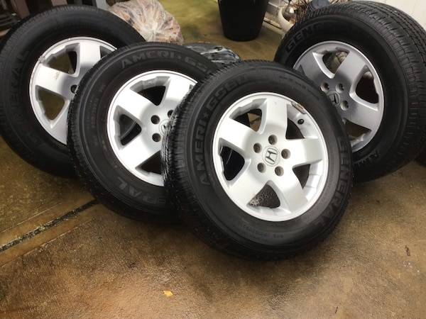 Used Honda Element 2006 Rims And Tires For Sale In Jersey City