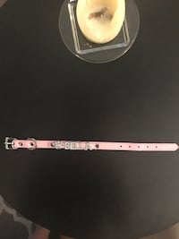 Pink dog collar size xs Mississauga, L5N 2A5