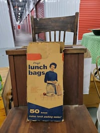 old box of lunch bags  Fridley, 55432