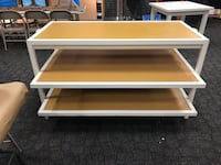 2 display tables. $125 each Clearwater, 33765