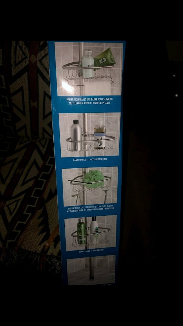 brand new interrior design bathroom shower caddy Asking for $30 or m  2ccb14f4-5e72-4657-b311-131e3df0619d