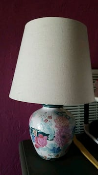 white and blue table lamp Norwalk, 90650