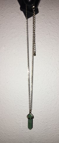 silver chain link necklace with lobster lock Ontario, 91762