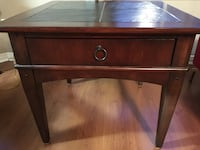 Square side table with drawer Aurora, L4G 7K5