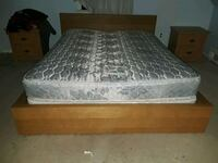 The frame and the mattress. queen size