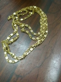 Gold necklace 30in long chain  Decatur