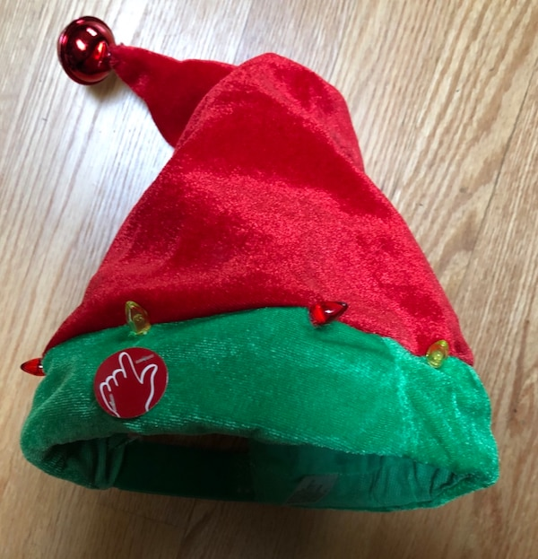 082e3e50e2caa Used Animated musical singing Christmas Dancing Light up Battery Operated  Hat for sale in Buffalo Grove