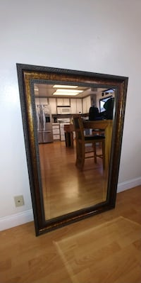 Framed mirror 49x32 Chino