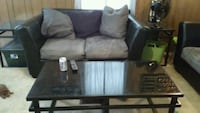 black and brown leather sofa set Hinesville, 31313