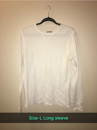 white crew-neck long-sleeved shirt Nampa, 83651