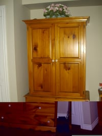 brown wooden cabinet with drawer TORONTO