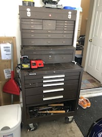 Kennedy tool box with all tools Las Vegas