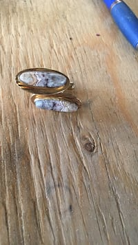 One of a kind agate cuff links Calgary, T2Y 2T4