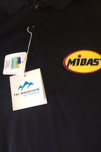 Midas polo shirts,XL men's. 4 new with tags. + 4 previously worn Hagerstown, 21740