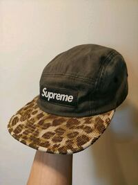 brown and black Supreme cap Vancouver, V5T 1W9