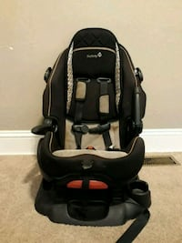 Forward - facing carseat