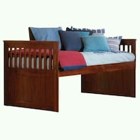 Twin Mission Rake Bed in Merlot  Fort Worth, 76117