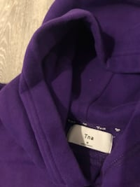 Purple TNA hoodie. Size M. Worn once!