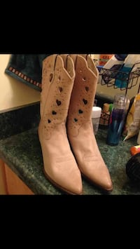 Western lady boots