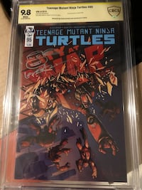 Tmnt #95 signed and remarked by Kevin Eastman Holtsville, 11742