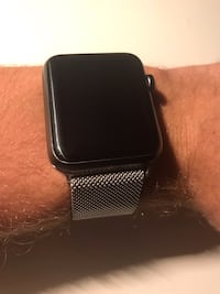 Apple Watch 2, Used, Great Condition, Stainless Steel Milanese Loop Band Magnetic