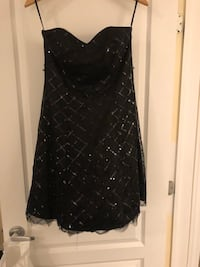 Strapless black dress new with tags Laval, H7L 0A6