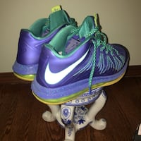 purple-and-green Nike basketball shoes Kenosha, 53140