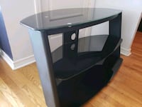 black glass top TV stand North York, M2N